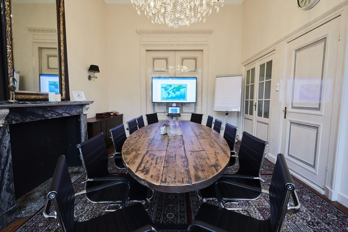 Besides virtual offices your can also use our meeting rooms